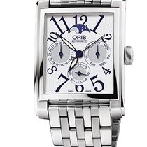 Oris Rectangular Complication, Date, Steel Bracelet