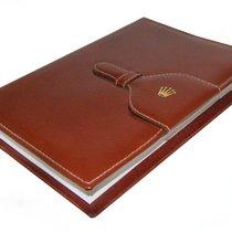 Rolex Notizbuch Mappe aus Leder