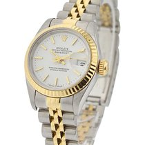 Rolex Used 69173_used_jub_wht_stk 26mm Lady Datejust in Steel...