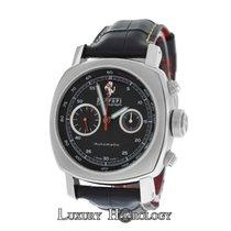 Panerai Authentic Men Ferrari F 6656 Chronograph Stainless Steel