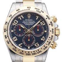Rolex Daytona Cosmograph 40 Edelstahl / Gelbgold 116503 Blau