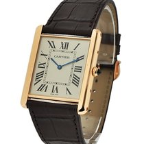 Cartier W1560017 Tank Louis Cartier Extra Flat in Rose Gold -...