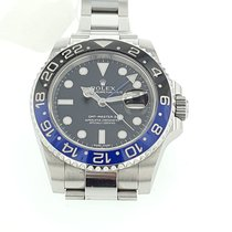 Rolex GMT Master II  BATMAN Black/Blue Ceramic Bezel Mint...