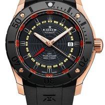 Edox .. Chronoffshore 1 GMT Worldtimer  300m Diver NEW FULL SET