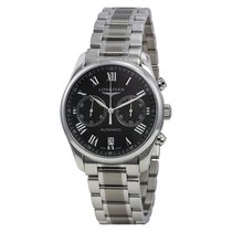 Longines Master Collection Chronograph Black Dial Mens Watch...