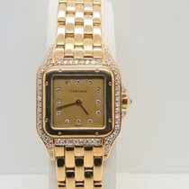 Cartier Panthere 18k Yellow Gold Factory Diamonds