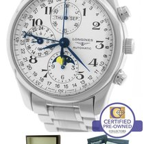 Longines Master Collection Moonphase Day Date Chronograph Watch