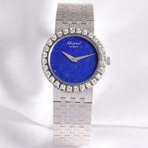 Chopard Lady Vintage Diamond Lapis Lazuli 18k White Gold