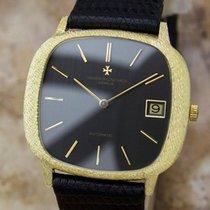 Vacheron Constantin 18k Gold Swiss Made Mens 1980s Automatic...