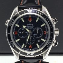 Omega Seamaster Planet Ocean 40mm Chronograph Black Strap...