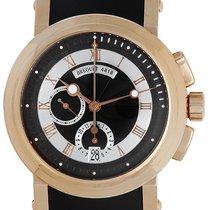 Breguet Marine II Big Date 18k Rose Gold Men's Watch with...