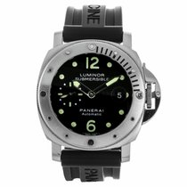 Panerai Luminor Submersible Automatic Acciaio Watch PAM00024...