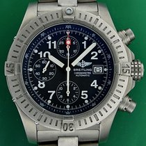 Breitling Chrono Avenger 44mm Automatic Titanium New Bracelet...