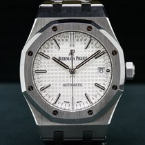 Audemars Piguet 15450ST.OO.1256ST.01 15450ST Royal Oak White...