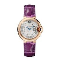 Cartier Ballon Bleu Automatic Ladies Watch Ref WE902040