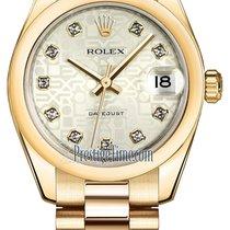 ロレックス (Rolex) Datejust 31mm Yellow Gold 178248 Silver Jubilee...