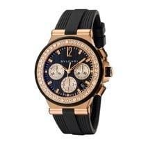 Bulgari Diagono Rubber Ladies Ref. DGP40BGDVDCH/8