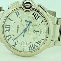 Cartier Ballon Bleu 18K White Gold Automatic Chronograph