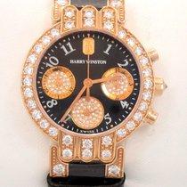 Harry Winston Premier Excenter 18k R Gold Diamonds 200/ucq32rl...