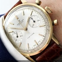 Breitling Rare Vintage Breitling Top Time solid gold Chronograph