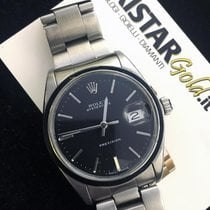 Rolex Oyster Date Precision Dial Black