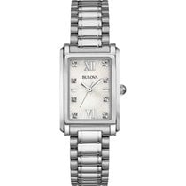 Bulova Ladies 96S157 Diamonds Watch