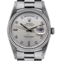 Rolex 18206 Platinum Presidential Day-Date Mens Watch