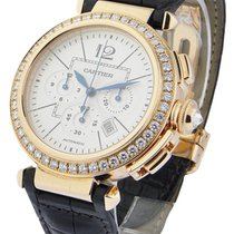 Cartier WJ120951 Pasha 42mm - Chronograph - Rose Gold on Strap...