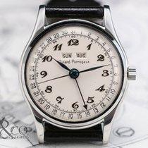 Girard Perregaux 5368 TRIPLE CALENDAR 1950's STEEL Vintage Watch