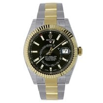 Rolex Sky-Dweller 42mm Stainless Steel & 18K Yellow Gold