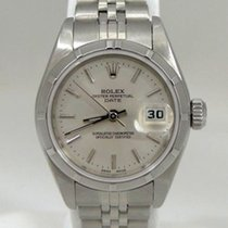 Rolex Ladies Rolex Oyster Perpetual Date Stainless Steel...