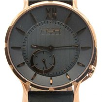 N.O.A Noa Slim Watch 18.60 Gp-mslq-004 Gray Dial Rose Gold...