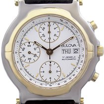 Bulova Mans Automatic Wristwatch Chronograph