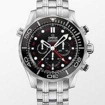 Omega Diver 300 M Omega Co-Axial Gmt Co-Axial 44 mm