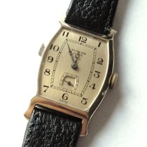 Longines Turler Curvex 14 ct Gold 1926