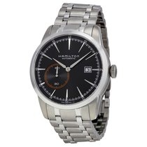 Hamilton Men's Railroad Automatic Black Dial Watch