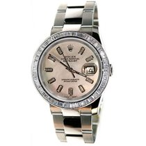 Rolex Datejust Men's Unused New Design Heavy Oyster Band...