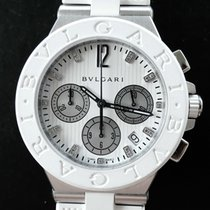 Bulgari Diagono Diamonds Automatic Dreamwhite Chronograph