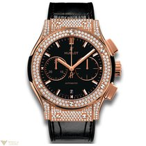 Hublot Classic Fusion Chronograph 18K Rose Gold Men's Watch