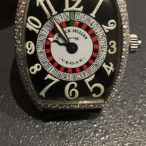 Franck Muller vegas with aftermarket diamond setting
