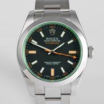 "Rolex Milgauss Full Set ""Green Glass"""