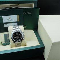 롤렉스 (Rolex) DAYTONA 116520 Stainless Steel Black Dial with...