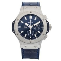 Χίμπλοτ (Hublot) Big Bang Steel Blue 44 Mm