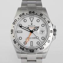 """Rolex Explorer II """"Rolex Warranty to 2021"""""""