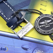 Breitling 101X Leather Strap/Steel Buckle - Cowhide 24-20 Mens...