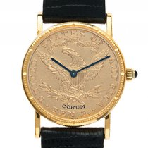 Corum Münzuhr Ten Dollar Eagle Liberty Head 18kt Gelbgold...