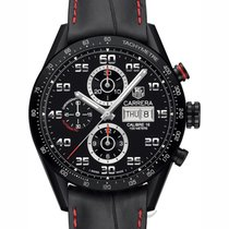TAG Heuer Carrera Calibre 16 Day-Date All Black - CV2A81.FC6237