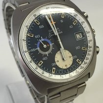 Omega Seamaster - Chronograph - Incl. 1972  warranty paper..
