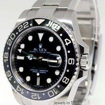 Rolex GMT-Master II Steel Ceramic Black/Green Mens Watch...