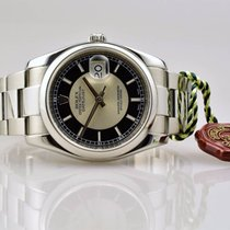 Rolex Datejust 116200 in Stahl - Oysterarmband - 2007 Rehaut